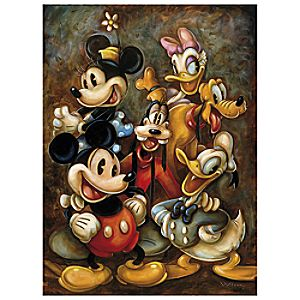"""""""Mickey Mouse and Friends"""" Giclée by Darren Wilson"""