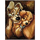 ''Lady and the Tramp'' Giclée by Darren Wilson