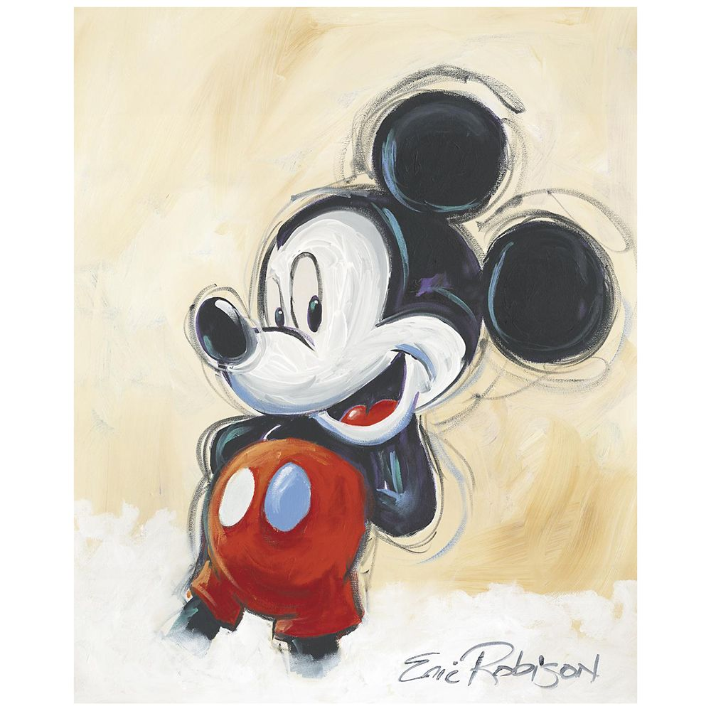 ''Classic Mickey'' Giclée by Eric Robison Official shopDisney