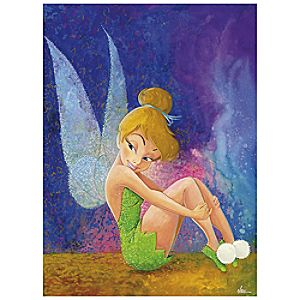 "Tinker Bell ""Tink Sitting"" Giclée by Randy Noble"
