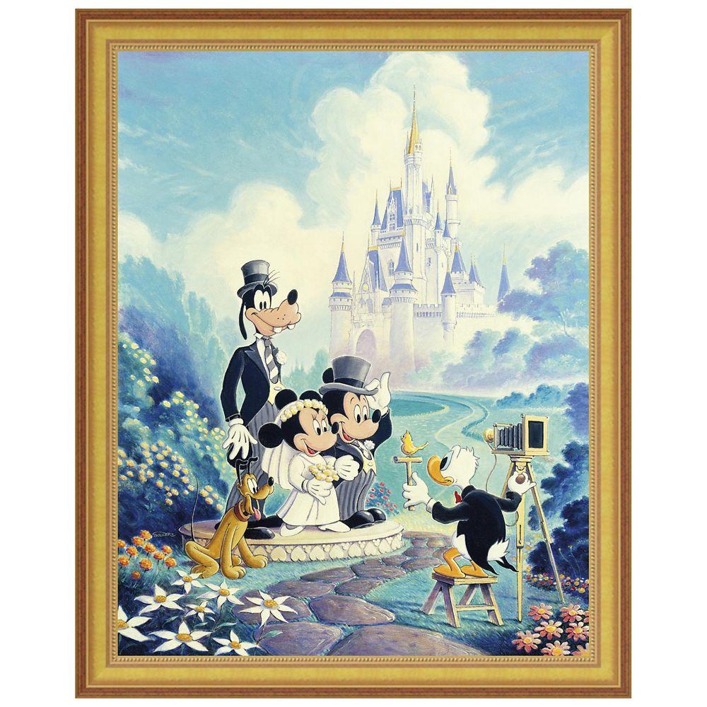 ''Mickey and Minnie Wedding'' Giclée by Randy Souders