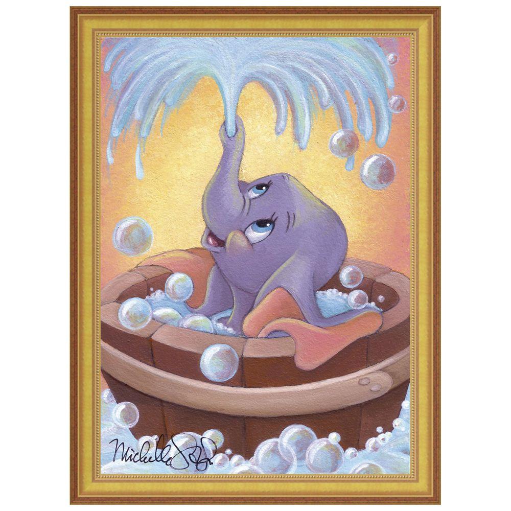 ''Dumbo in Bubbles'' Giclée by Michelle St.Laurent