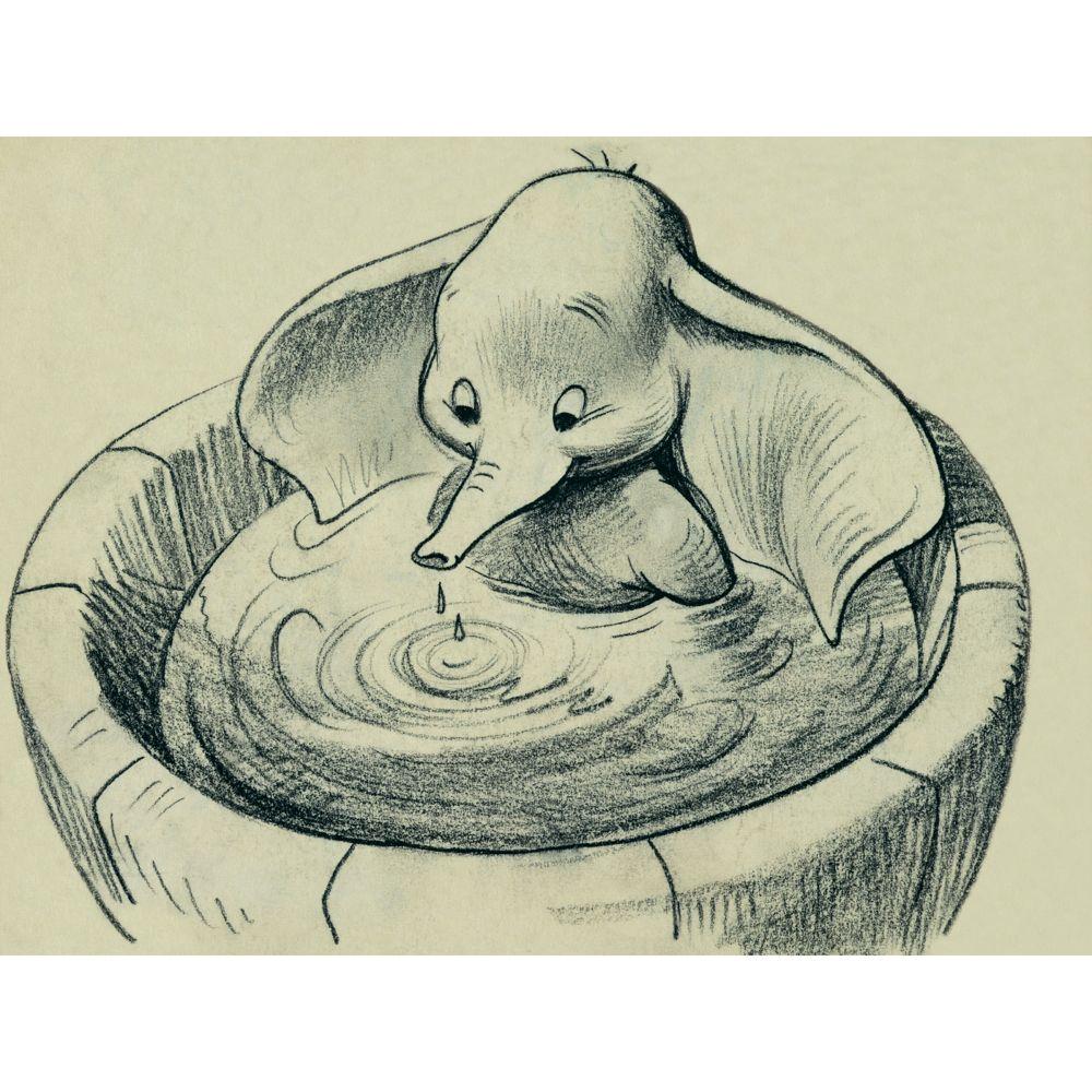 Dumbo ''Bathtime'' Giclée