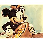 Minnie Mouse ''Mickey's Surprise Party'' Giclée