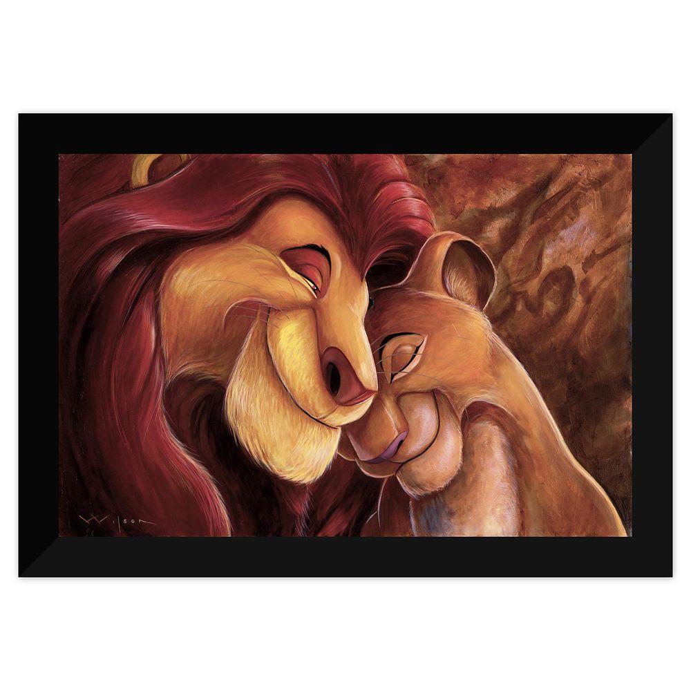 The Lion King Pride Love Everlasting Giclée By Darren Wilson