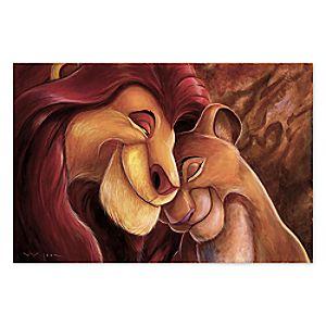 The Lion King ''Pride Love Everlasting'' Giclée by Darren Wilson