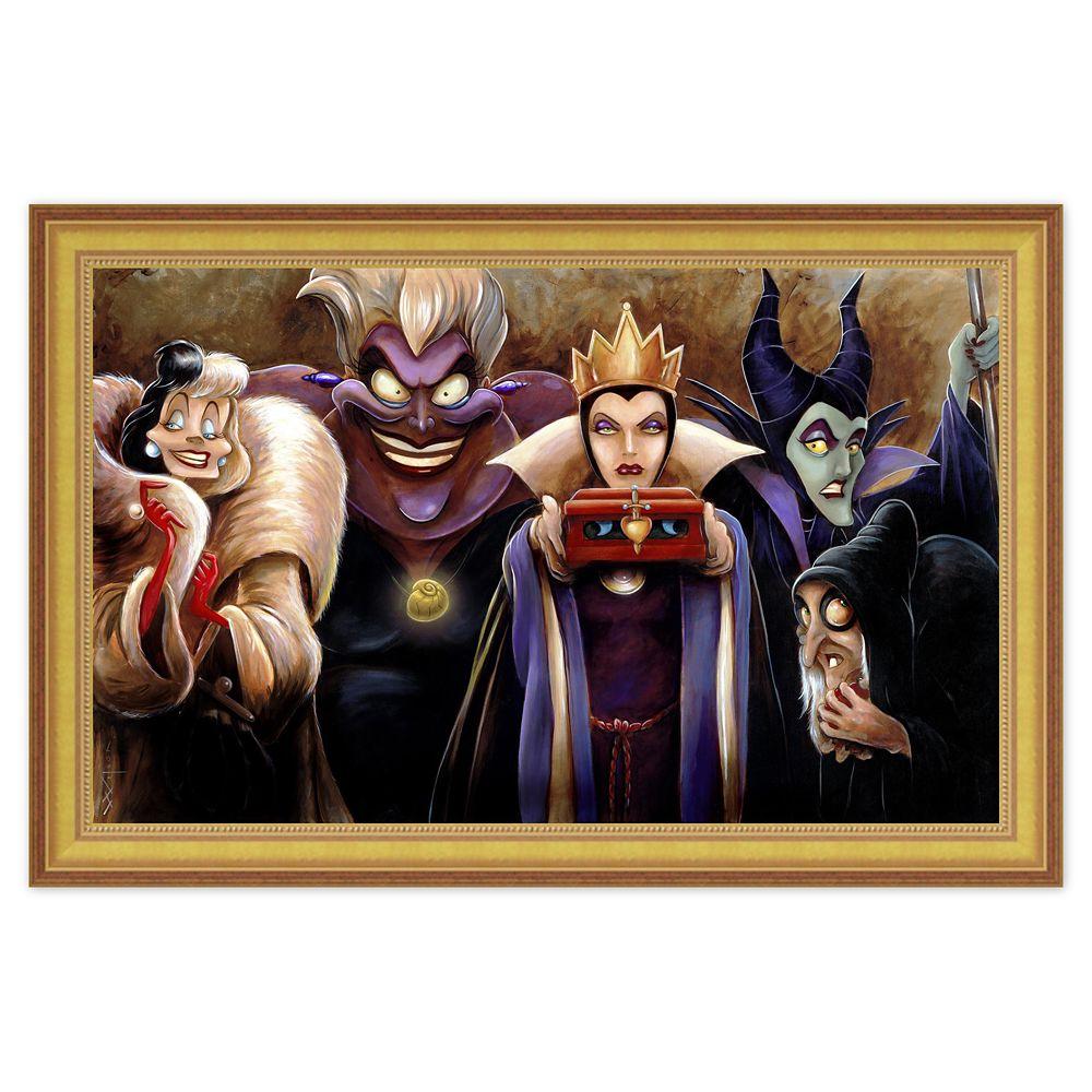 ''Sinister Villains'' Giclée by Darren Wilson