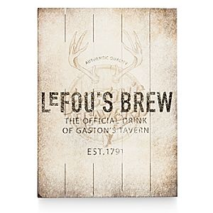 LeFou's Brew Wood Sign - Twenty Eight & Main Collection