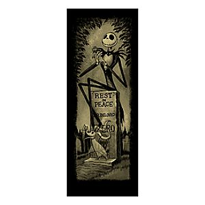 Jack Skellington Giclée - Haunted Mansion Holiday - Limited Availability