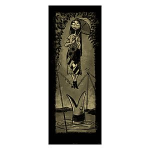 Sally Giclée on Paper - Haunted Mansion Holiday - Limited Availability