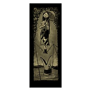 Sally Giclée - Haunted Mansion Holiday - Limited Availability