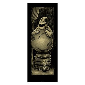 Oogie Boogie Giclée on Paper - Haunted Mansion Holiday - Limited Availability