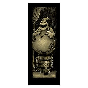 Oogie Boogie Giclée - Haunted Mansion Holiday - Limited Availability