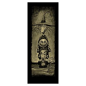 Lock, Shock, & Barrel Giclée on Paper - Haunted Mansion Holiday - Limited Availability