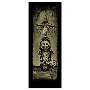Lock, Shock, & Barrel Giclée - Haunted Mansion Holiday - Limited Availability