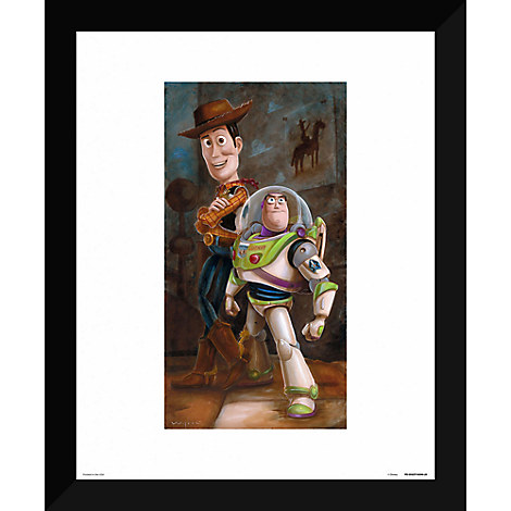 Toy Story ''Buzz & Woody'' Giclée by Darren Wilson