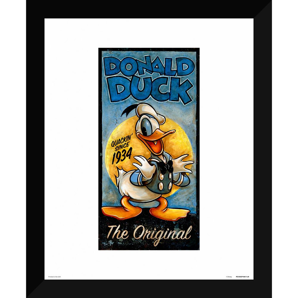 ''Donald Duck the Original'' Giclée by Darren Wilson
