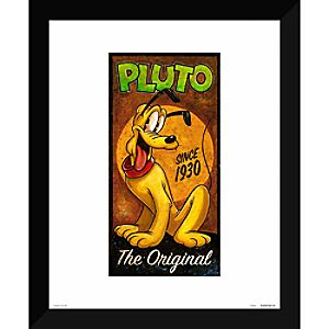 ''Pluto the Original'' Giclée by Darren Wilson