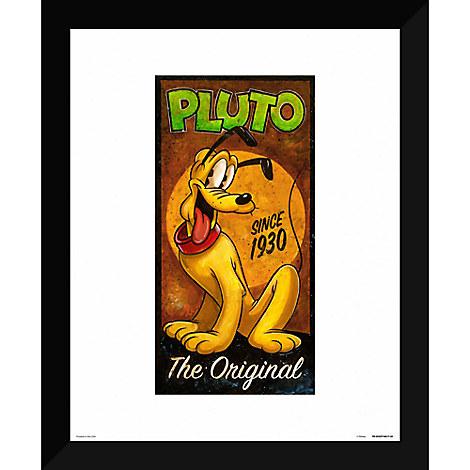 ''Pluto the Original'' Giclée by Darren Wilson