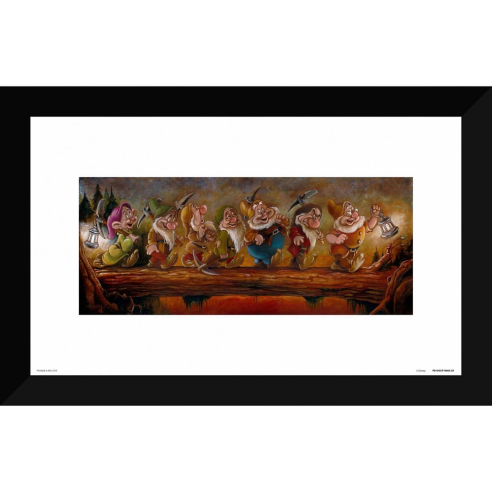 Seven Dwarfs ''Going Home'' Giclée by Darren Wilson