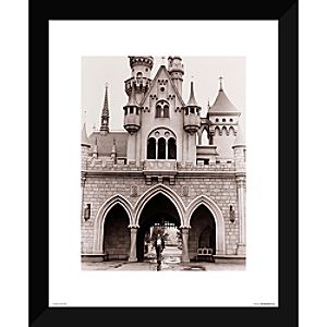 Walt Disney at Sleeping Beauty Castle Giclé