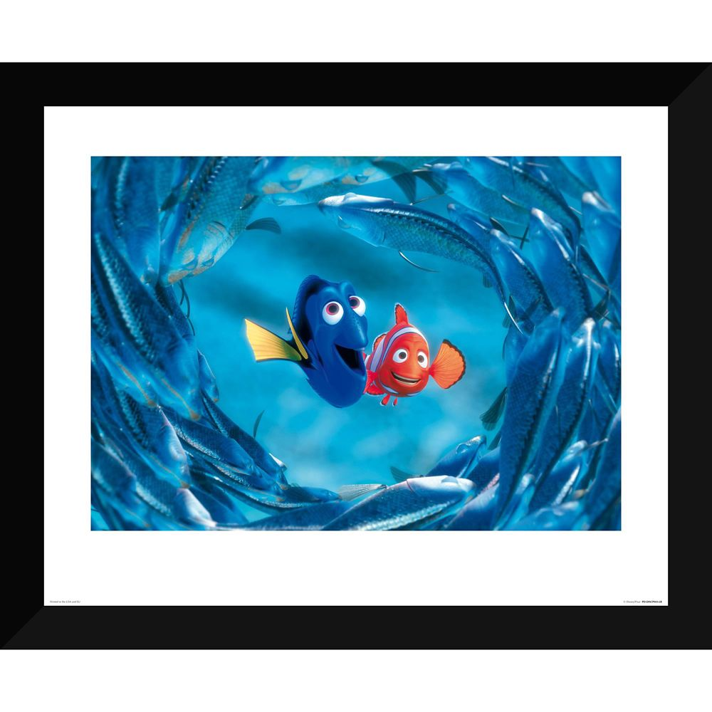 Finding Nemo ''The Moonfish entertain Marlin and Dory'' Giclée