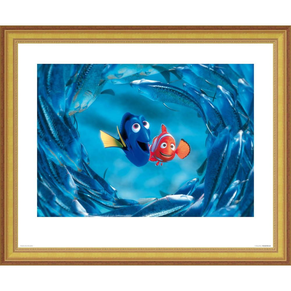 Finding Dory Womens Fish Frame T-Shirt