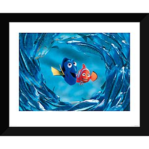 Finding Nemo ''The Moonfish entertain Marlin and Dory'' Giclé 7409055332893MS
