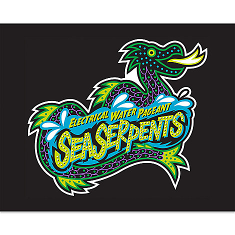 March Magic Poster - Electric Water Pageant Sea Serpents - Limited Release