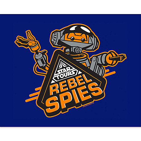 March Magic Poster - Star Tours Rebel Spies - Limited Release