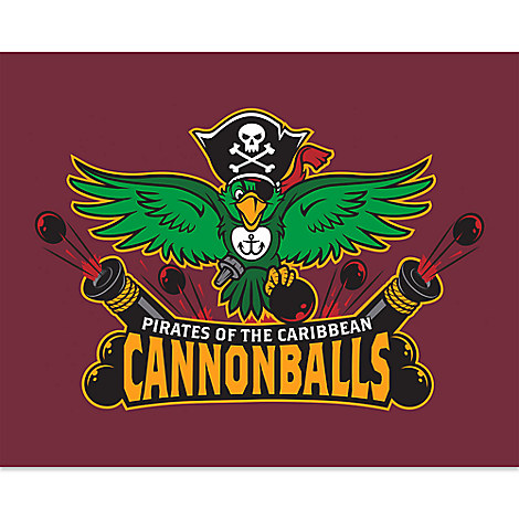 March Magic Poster - Pirates of the Caribbean Cannonballs - Limited Release