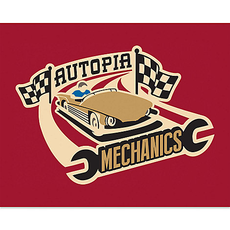 March Magic Poster - Autopia Mechanics - Limited Release
