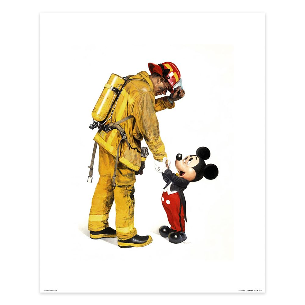 Mickey Mouse ''Mickey and the Fireman'' by Charles Boyer Official shopDisney
