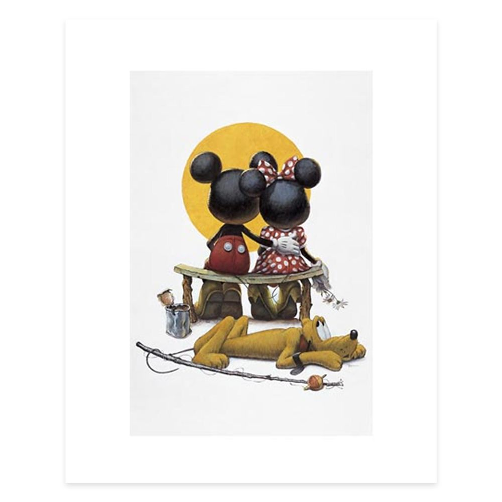 Mickey and Minnie Mouse ''Puppy Love'' by Charles Boyer Official shopDisney