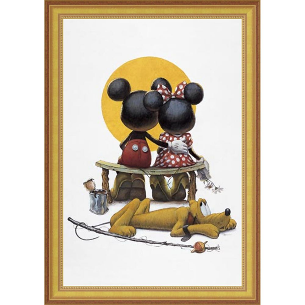 Mickey and Minnie Mouse ''Puppy Love'' by Charles Boyer