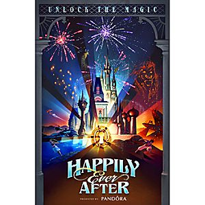 Walt Disney World ''Happily Ever After'' Giclée