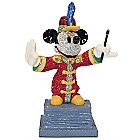 Bandleader Mickey Mouse Jeweled Figurine by Arribas Brothers