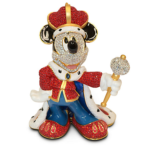 King Mickey Mouse Figurine by Arribas Brothers