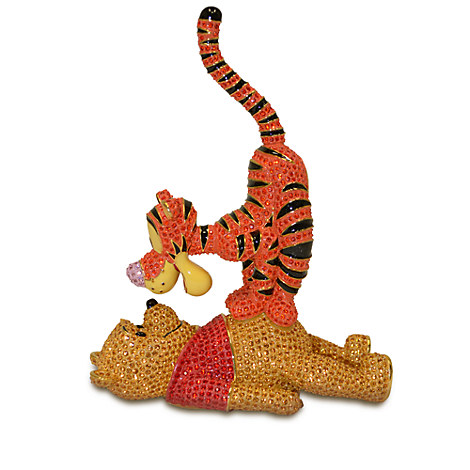 Winnie the Pooh and Tigger Figurine by Arribas Brothers