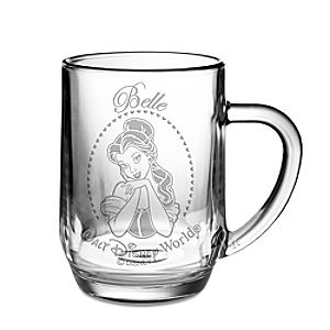 Belle Glass Mug by Arribas – Personalizable