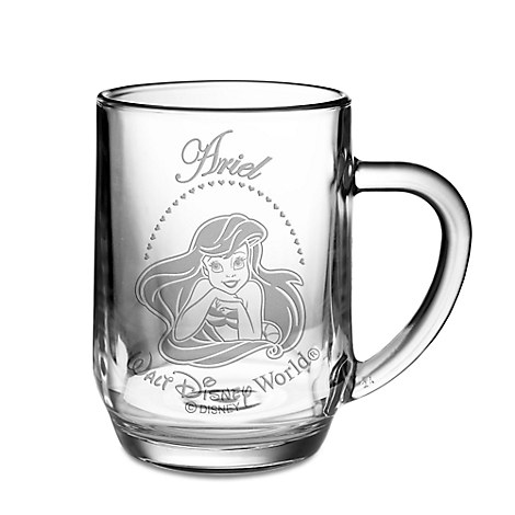 Ariel Glass Mug by Arribas - Personalizable