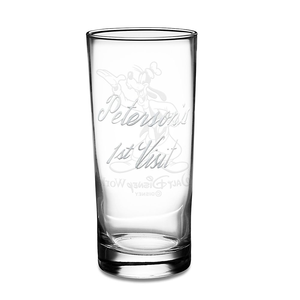Goofy Glass Tumbler by Arribas – Personalizable
