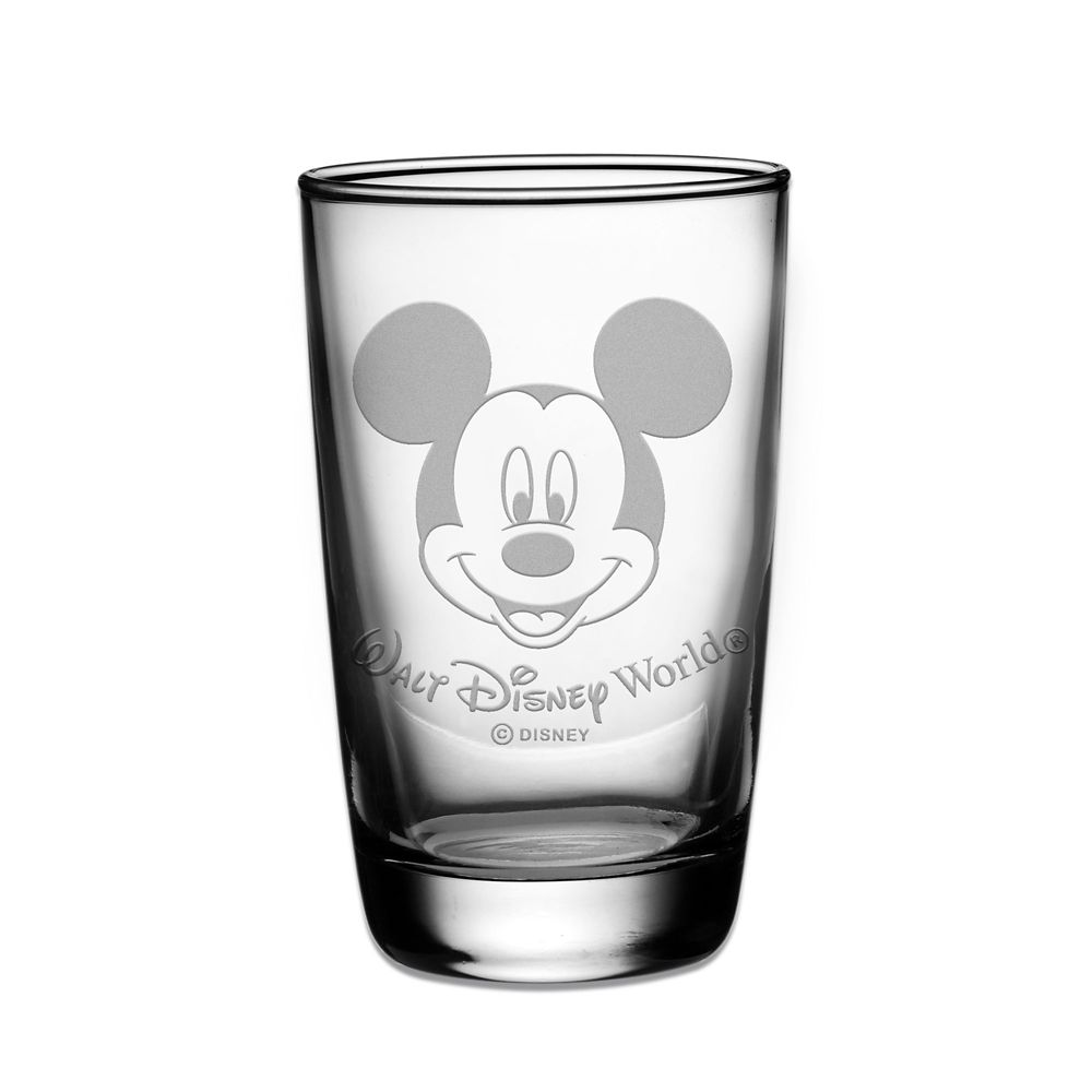 Mickey Mouse Juice Glass by Arribas – Personalizable