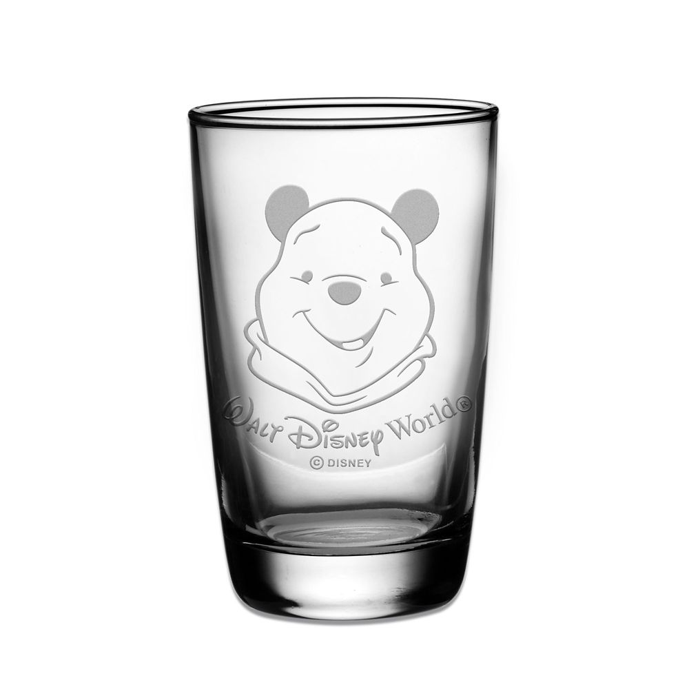 Winnie the Pooh Juice Glass by Arribas  Personalizable Official shopDisney
