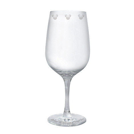 Minnie Mouse Icon Wine Glass by Arribas - Personalizable