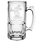 Mickey Mouse Glass Stein by Arribas - 36 oz.