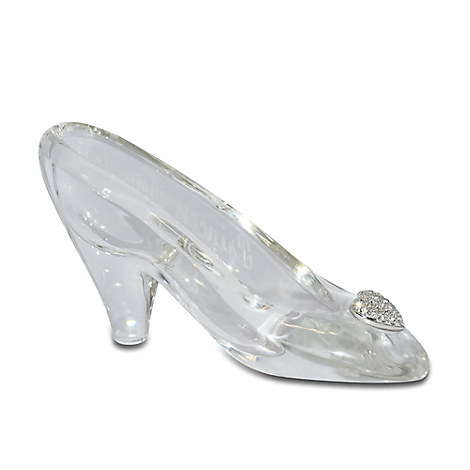 Personalizable Small Cinderella Glass Slipper by Arribas