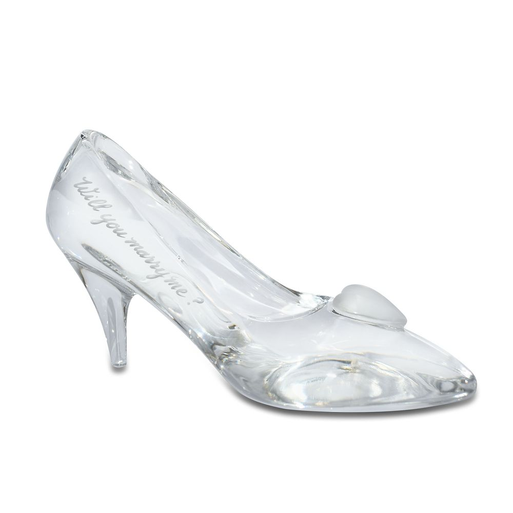Cinderella Glass Slipper by Arribas – Large – Personalizable