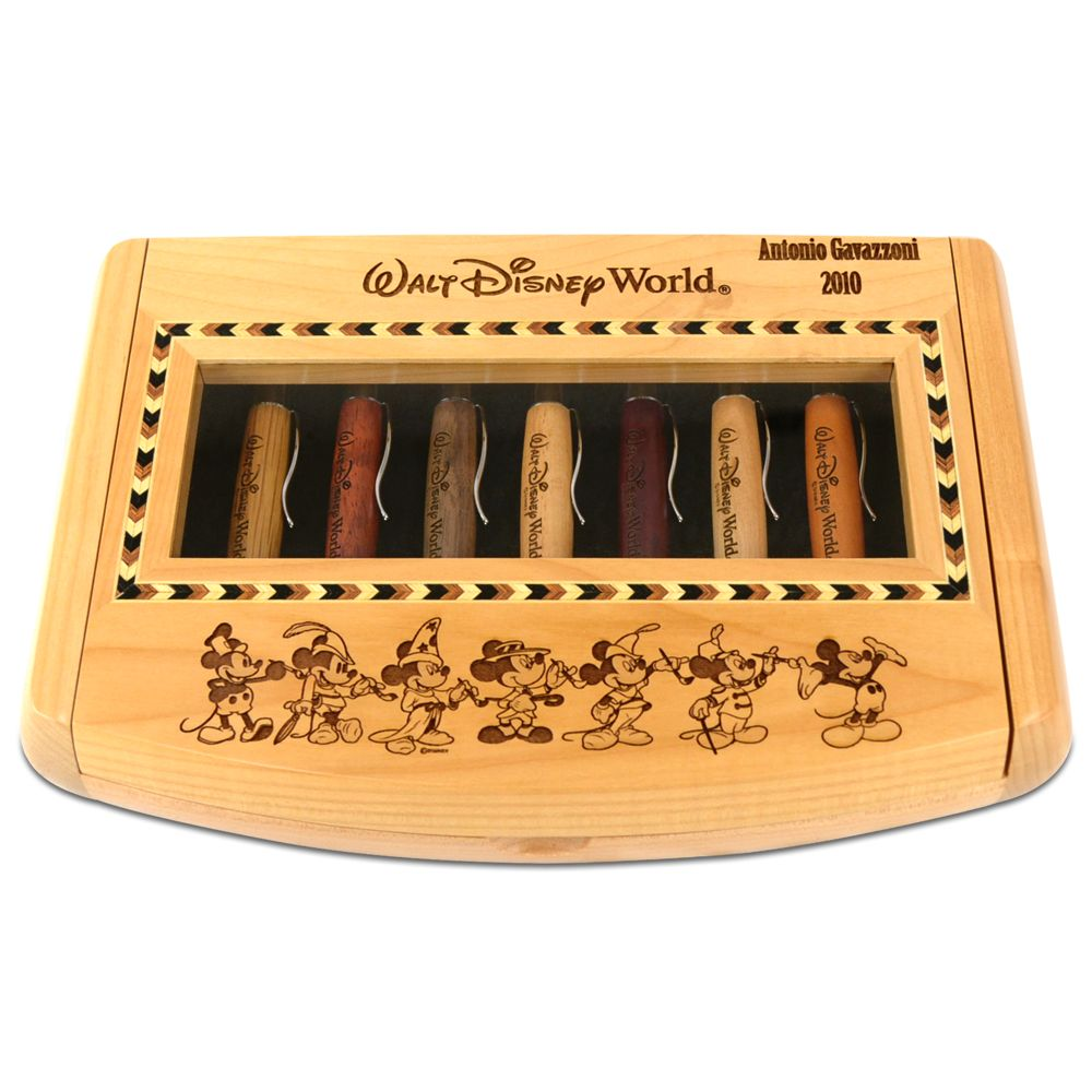 Thru the Years Mickey Mouse Pen Set by Arribas – Personalizable