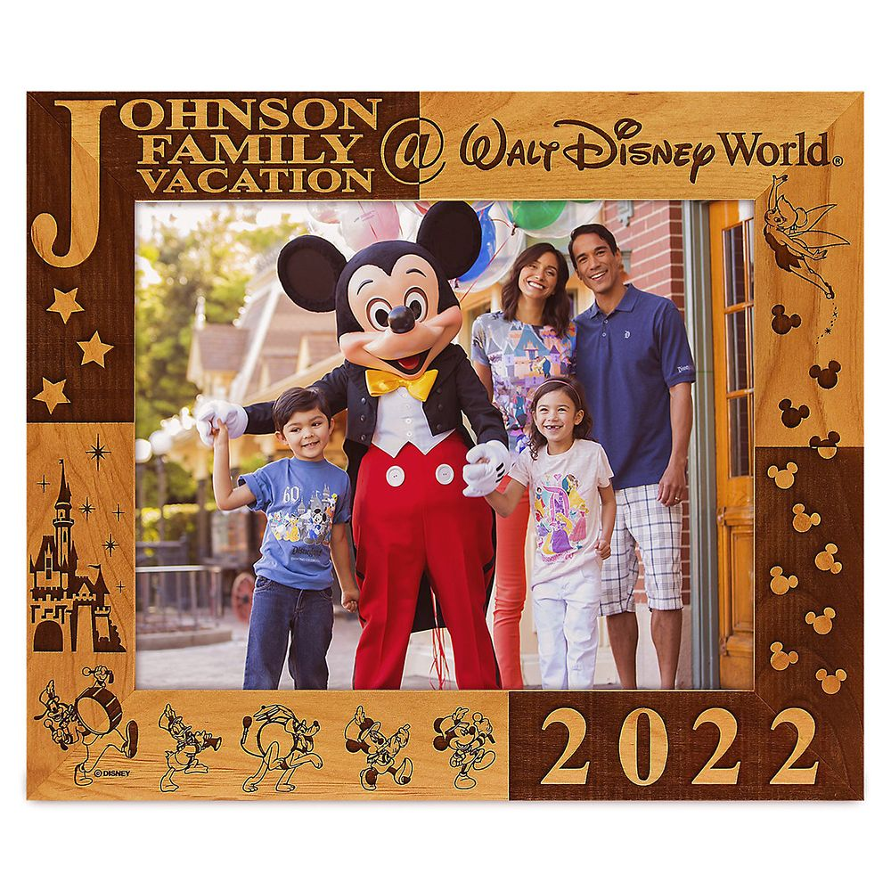 Walt Disney World 2019 Frame by Arribas – 8'' x 10'' – Personalizable